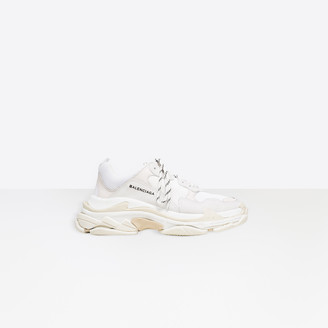 Balenciaga Oversized multimaterial sneakers with quilted effect
