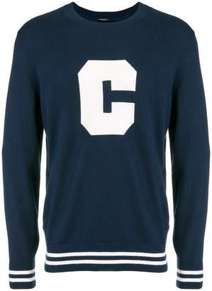 Calvin Klein front logo sweatshirt