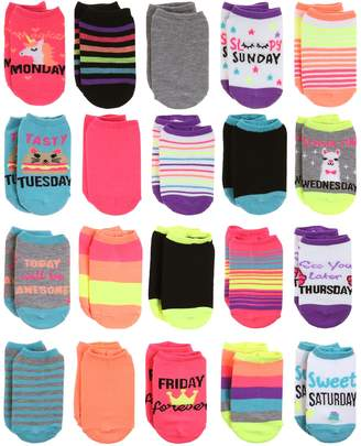 DAY Birger et Mikkelsen Elli By Capelli Girls 4-16 Elli by Capelli 20-pack of the Week No-Show Socks
