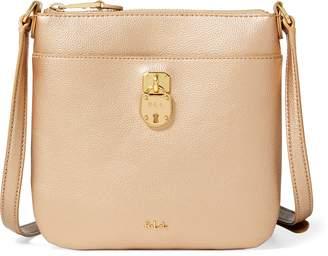 Ralph Lauren Pebbled Lila Crossbody Bag