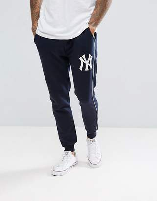 Majestic New York Yankees Joggers In Navy