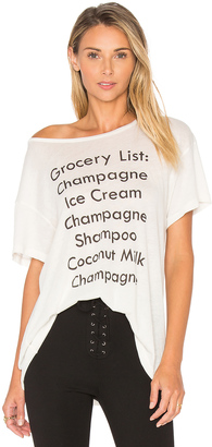 Wildfox Couture Grocery List Tee $68 thestylecure.com