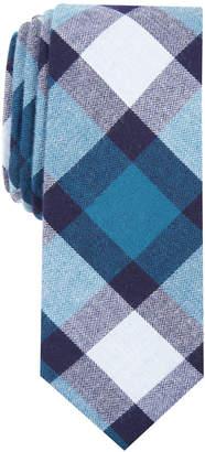 Bar III Men's Jasper Plaid Skinny Tie