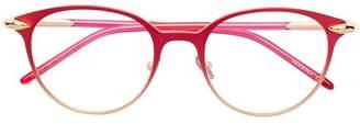 Pomellato Eyewear circle framed glasses