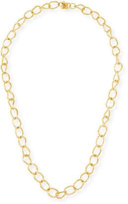 "Ashley Pittman Lightly Hammered Necklace, 36""L"