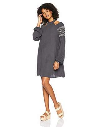 O'Neill Women's Mirage Woven Dress with Embroidery