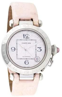 Cartier Pasha C GMT Watch