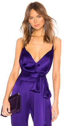 Michelle Mason x REVOLVE Cami Wrap Bodysuit