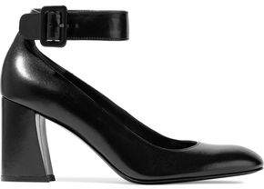 Stuart Weitzman Clara Leather Pumps