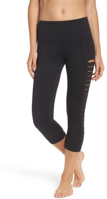 Women's Zella Intrigue High Waist Crop Leggings $65 thestylecure.com