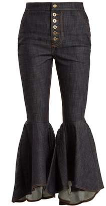 Ellery Hysteria high-rise kick-flare jeans