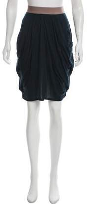 VPL Jersey Knee-Length Skirt