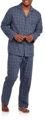 Hanes Men's Woven Pajama Set
