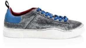 Diesel Clever Low-Top Denim Sneakers