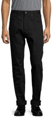 Rag & Bone Solid Rolled-Cuff Pants