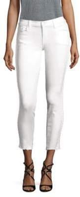 J Brand Side Braided Skinny Jeans
