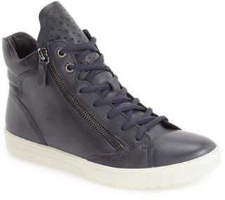 ECCO 'Fara' High Top Sneaker (Women) $159.95 thestylecure.com