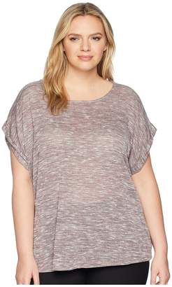 Bobeau B Collection by Plus Size Mia Sweater Knit Tee Women's T Shirt