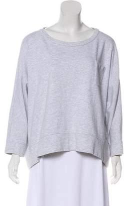 Brunello Cucinelli Scoop Neck Oversize Sweatshirt