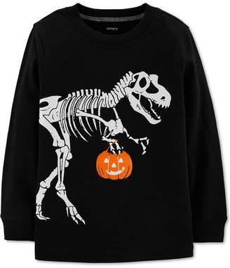 Carter's Carter Baby Boys Dinosaur-Print Cotton T-Shirt