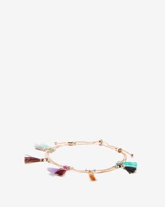 Express Mini Tassel Pull-Cord Bracelet