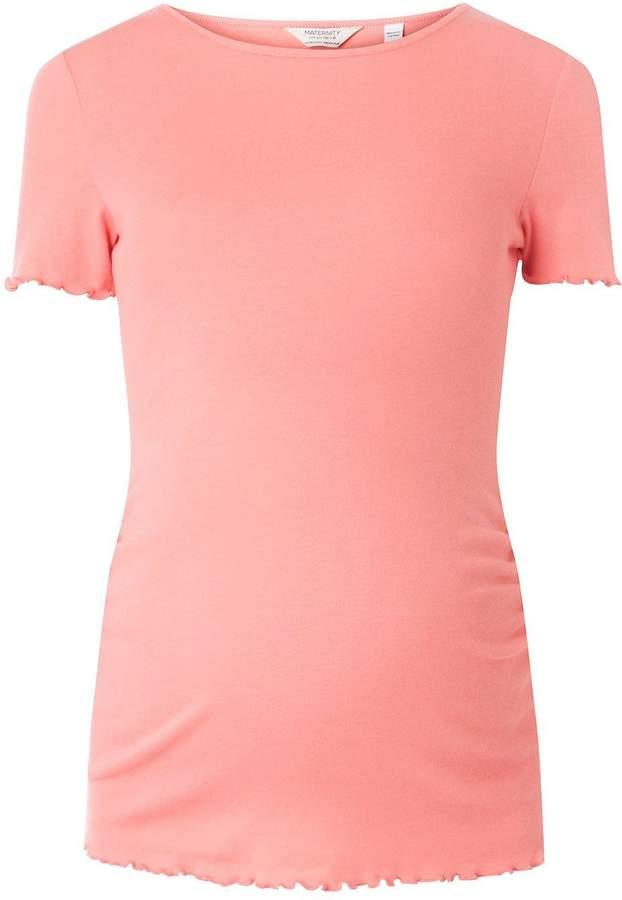 **Maternity Pink Short Sleeve T-Shirt