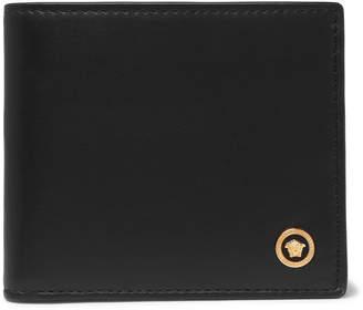 Versace Leather Billfold Wallet