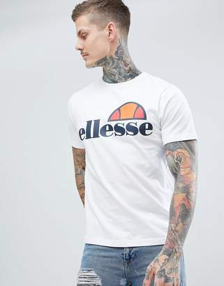 Ellesse Prado t-shirt with large logo in white