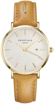 SIFE-I80 33MM The September Issue White Dial Yellow Leather