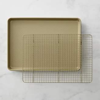 Williams-Sonoma Williams Sonoma Goldtouch® Nonstick Half Sheet Pan with Baking Rack