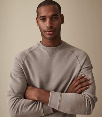 Reiss Our last order date for Christmas has now passed PHEONIX CREW NECK SWEATSHIRT Stone
