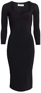 Chiara Boni Women's Enya Sweetheart Sheath Dress