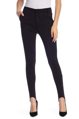 Frame Wool Blend Ponte Stirrup Pants