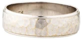 Ring 14K Hammered Wedding Band