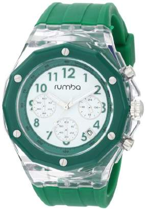 RumbaTime Men's Mercer Amazon 45mm Dial Watch