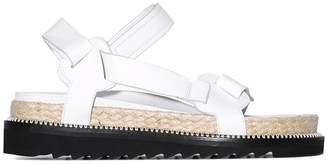 Marques Almeida Marques'Almeida white Espadrille sandals