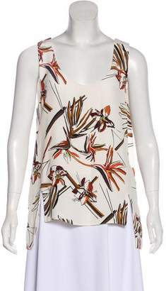 Maiyet Silk Floral Top