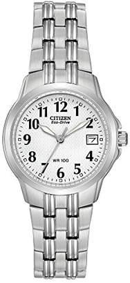 Citizen Women's EW1540-54A Eco-Drive Silhouette Sport Stainless Steel Watch