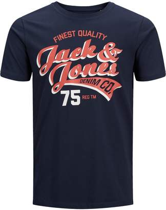 Jack and Jones Graphic Cotton Tee