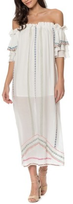 Women's Red Carter Covo Cover-Up Dress $260 thestylecure.com