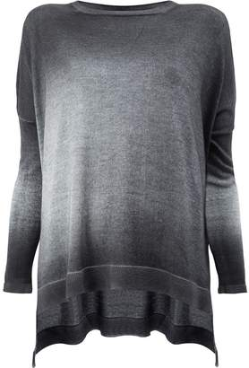 Avant Toi washed effect knitted top