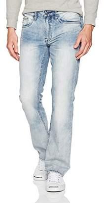Buffalo David Bitton Men's Six Slim Straight Leg Fashion Denim Jean in 30 Inseam
