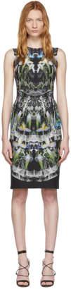 Alexander McQueen Multicolor Silk Ophelia Dress