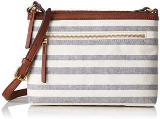 Fossil Damentasche ? Fiona Crossbody, Women's Cross-Body Bag,5.08x19.05x26 2/3 cm (B x H T)