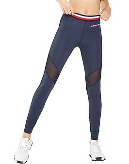 Tommy Hilfiger Legging With Mesh Full Length