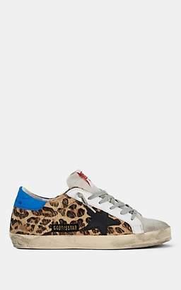 Golden Goose Women's Superstar Calf Hair Sneakers - Beige, Tan