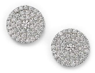 Bloomingdale's Diamond Disc Stud Earrings in 14K White Gold, 1.0 ct. t.w.