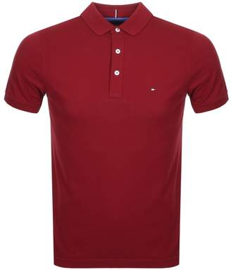 Tommy Hilfiger Classic Polo T Shirt Red