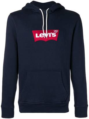 Levi's hooded logo sweatshirt