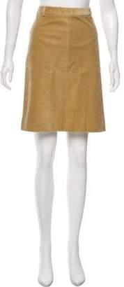 Theory Knee-Length A-Line Skirt
